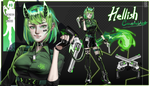 OPEN|Adoptable #3 [AUCTION] Hellish Constable by Reilixin