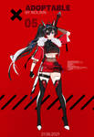 OPEN|Adoptable #05 [AUCTION] Cyber Demon by Reilixin