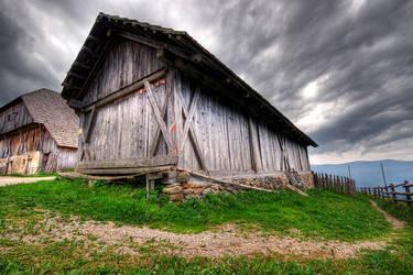 creeepy house by the-drow