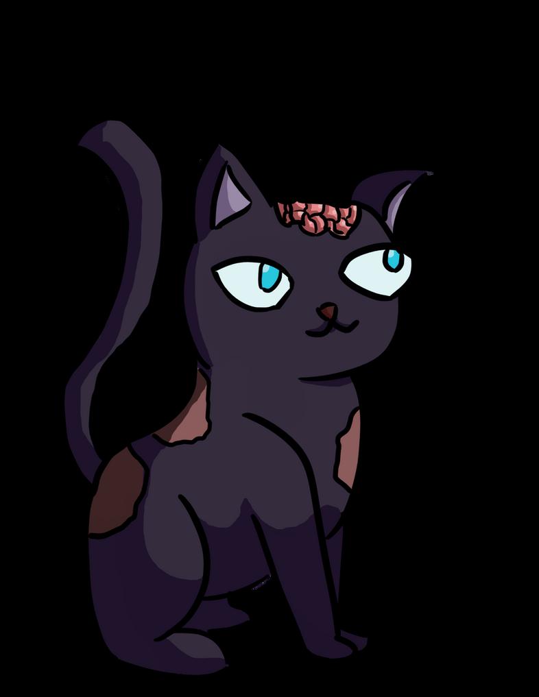 Undead Cat by DrLimeade