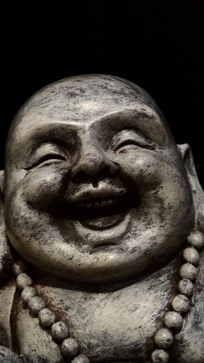 Happy Buddha by inkedartist