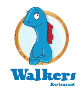 Walker Restaurant Logo by inkedartist
