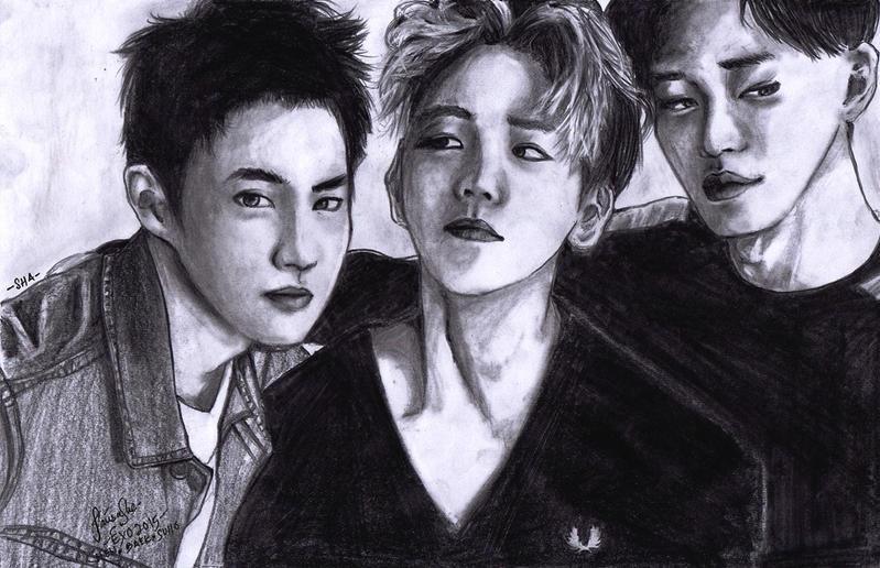 32. Alluring (Suho, Baek,Chen) by AmieeSha96