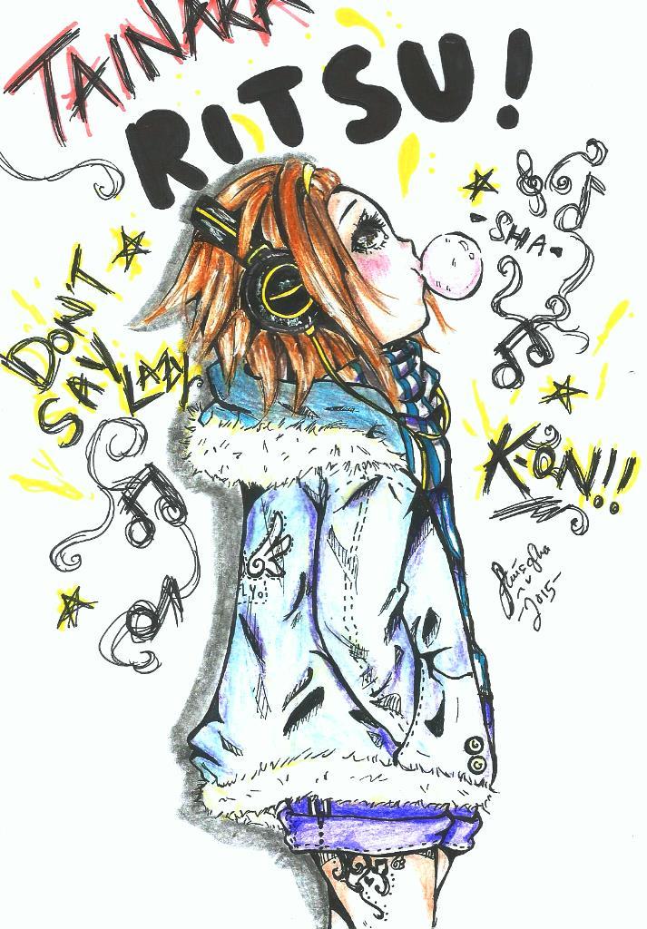 [Fan art] K-ON:- Ritsu by AmieeSha96