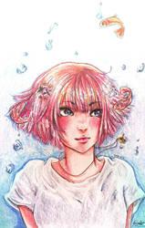 Deep Sea Girl by AmieeSha96