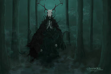 frightening creature in the forest