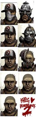 Krieg's Face Mashup