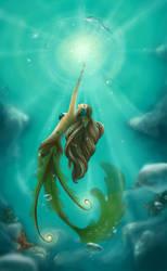 Oak Mermaid by Myrmirada