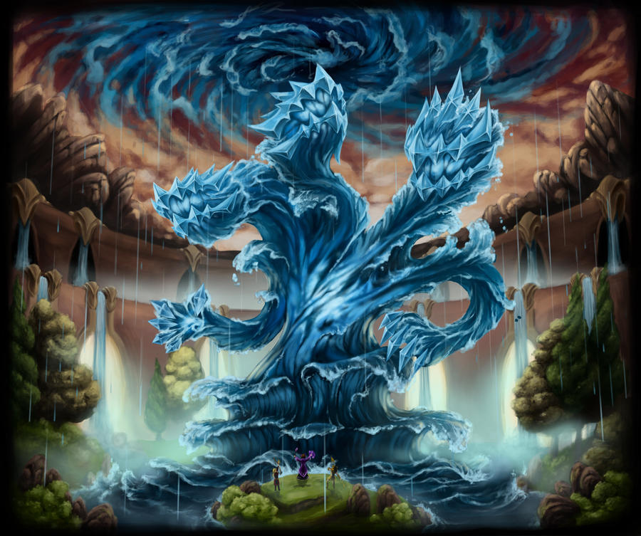 Water Colossus by Myrmirada