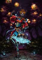 Orianna LoL Lunar Revel Art Contest by Myrmirada