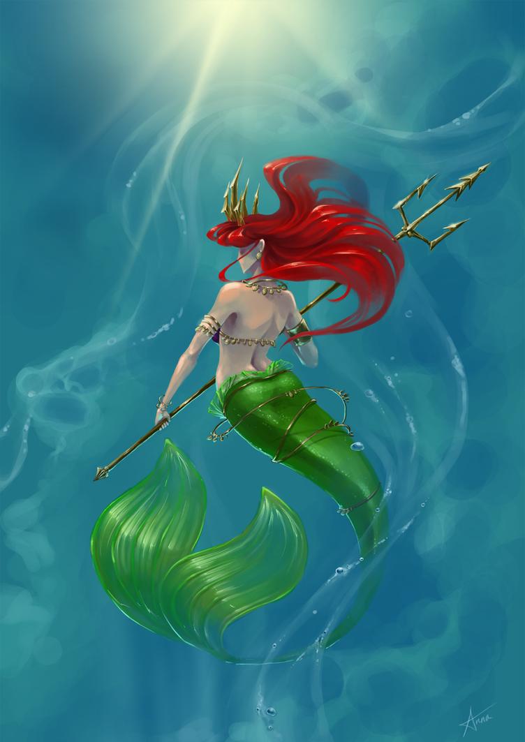 Ariel by Myrmirada