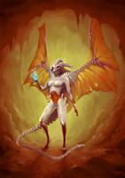 Monster 9 - Demon by Myrmirada