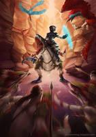 the time warriors of schaat' nath by Myrmirada