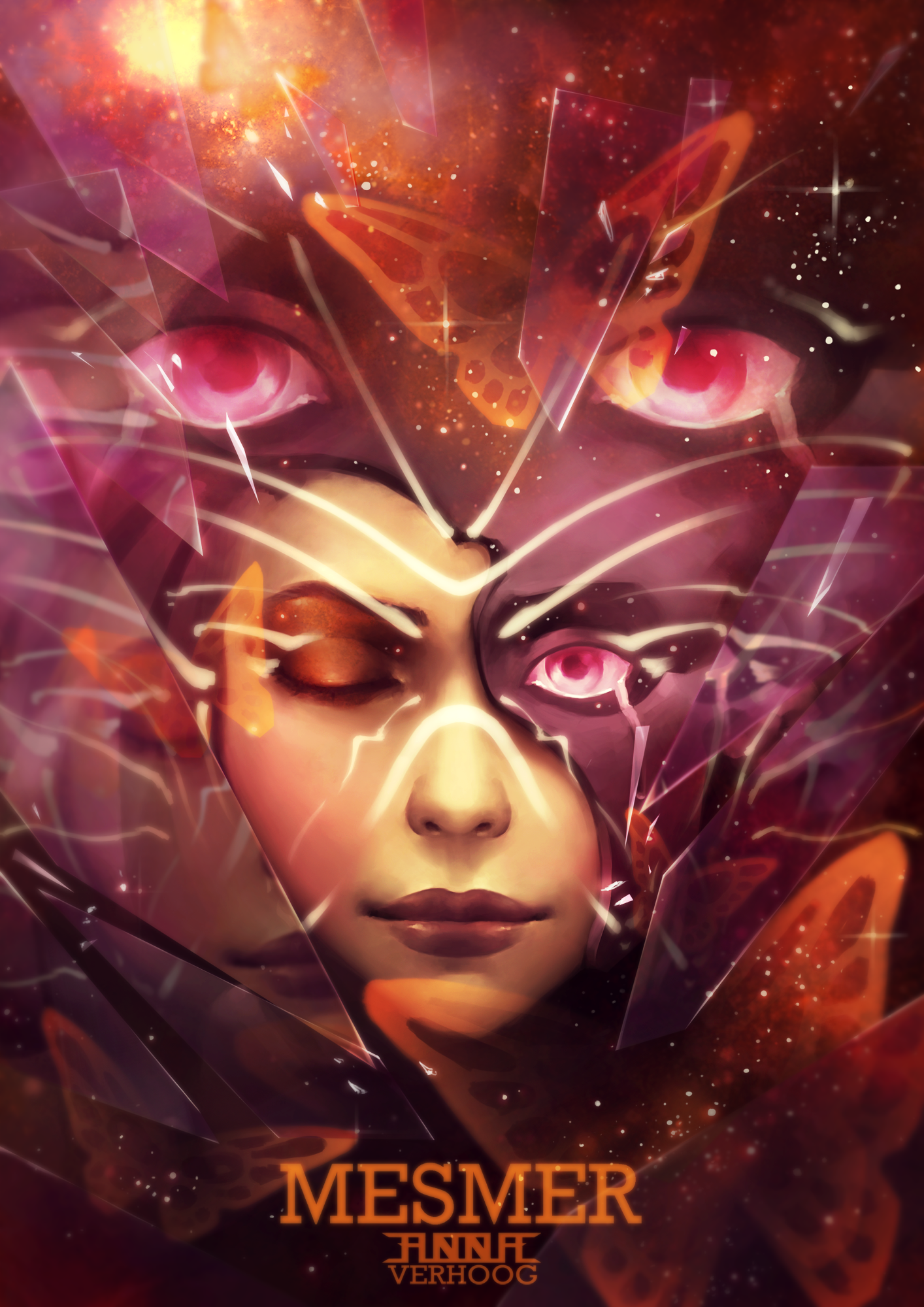 mesmer guild wars 2 fan art by myrmirada on deviantart