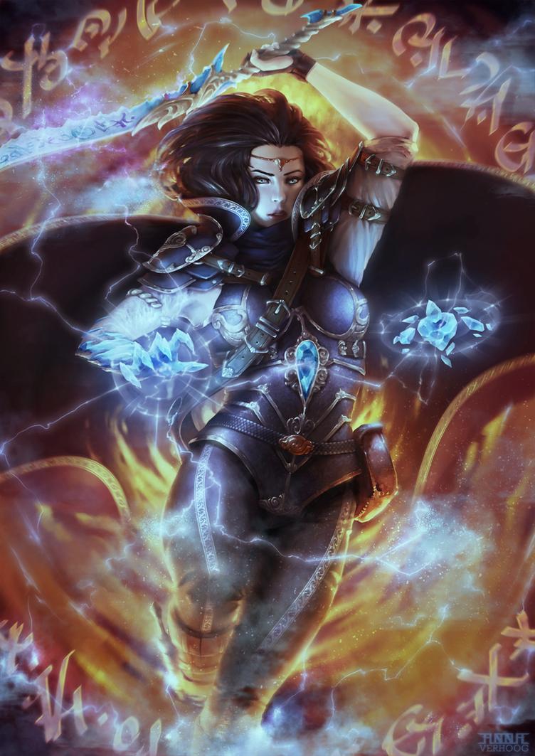 Daeonica by Myrmirada