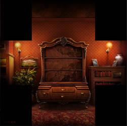 The Godfather - Trophy Room by Myrmirada