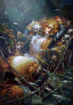 The Siren by Myrmirada