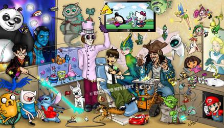 dentistry n' cartoons by Infernauta