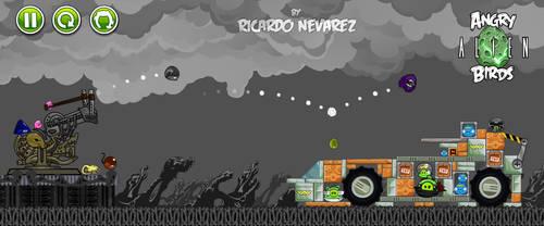 Angry Alien Birds vs Weylard- Yutanpig by Infernauta