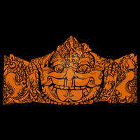 Head Of Kala Barong Temple