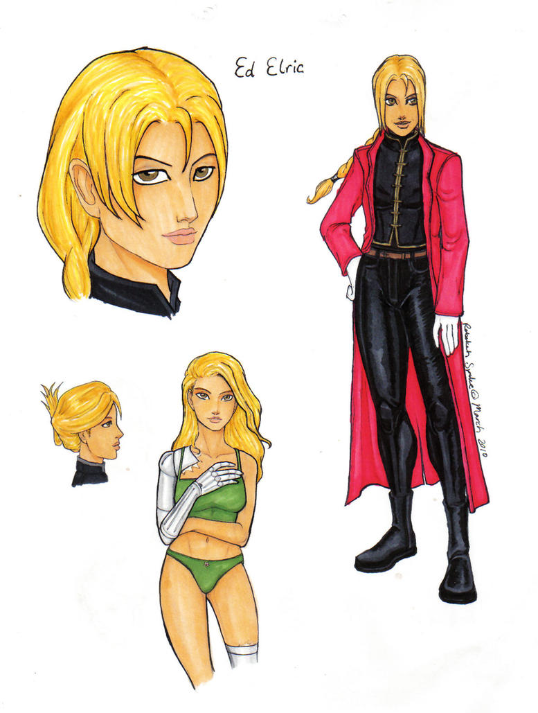 GB - FMA - Ed Elric by...