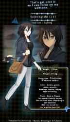 Mystic Messenger Character OC: Sujeongsshi
