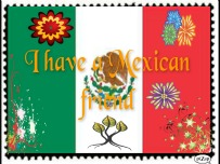 Mexican friend -stamp- by BrookeCPhotography