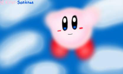 Kirby in the Sky by Kirby-Sonicfan