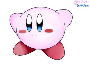 Kirby drawing