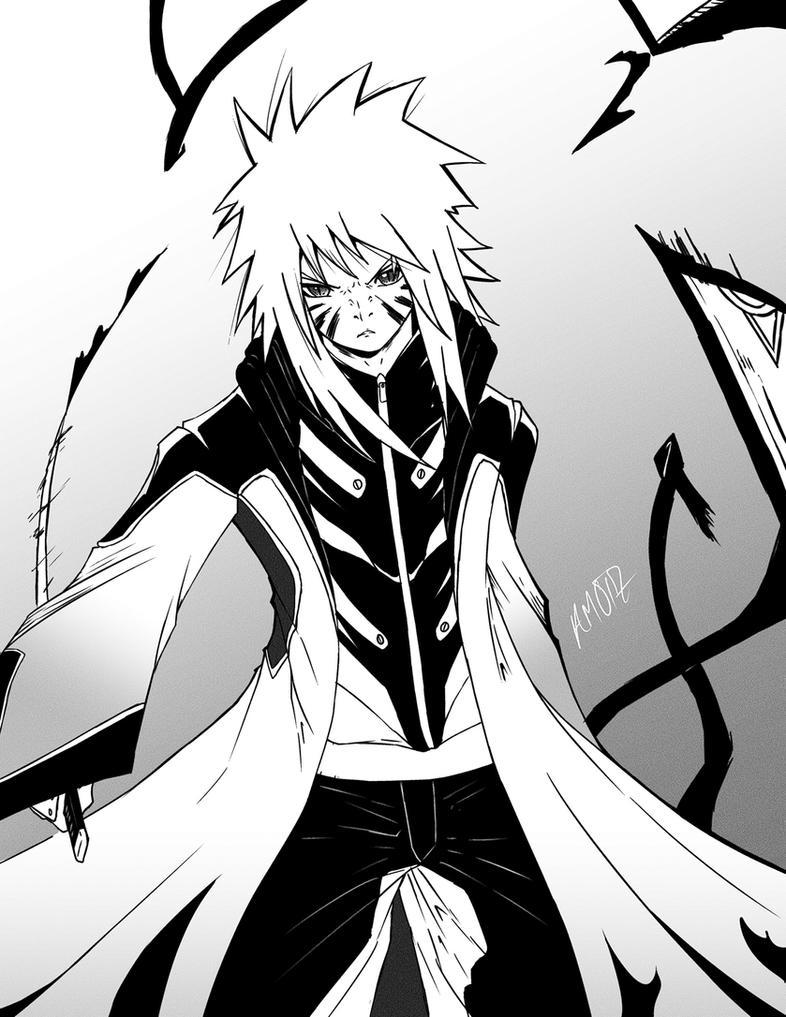 Evil Naruto(?) by AMO17 on DeviantArt