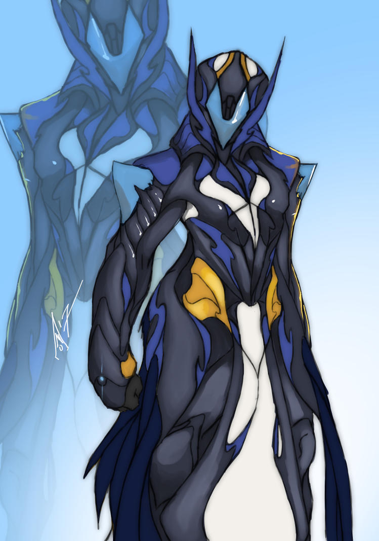Variant Warframe Frost by AMO17 on DeviantArt  Frost