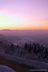 December dawn by Natasek
