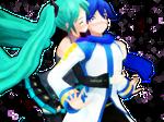 [MMD] Surprise Kiss (Miku x Kaito)