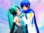 [MMD] Couple1= Miku x Kaito