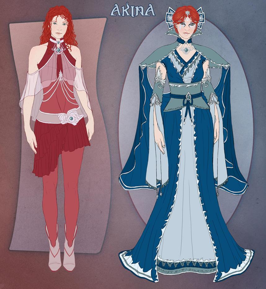 Akina Clothing Designs By Ilenora On DeviantArt