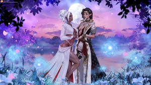 Karina and  Keira (commission)