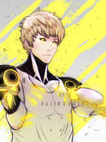 genos one punch man by Halimunali by Halimunali