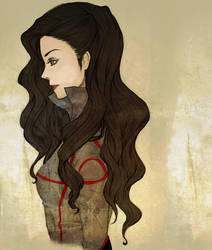 Asami Sato by PencilPaperPassion
