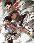 Attack on Titan x Legend of Korra Crossover