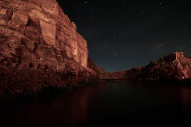 Colorado River Night