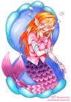 Mermaid by yuukiartda