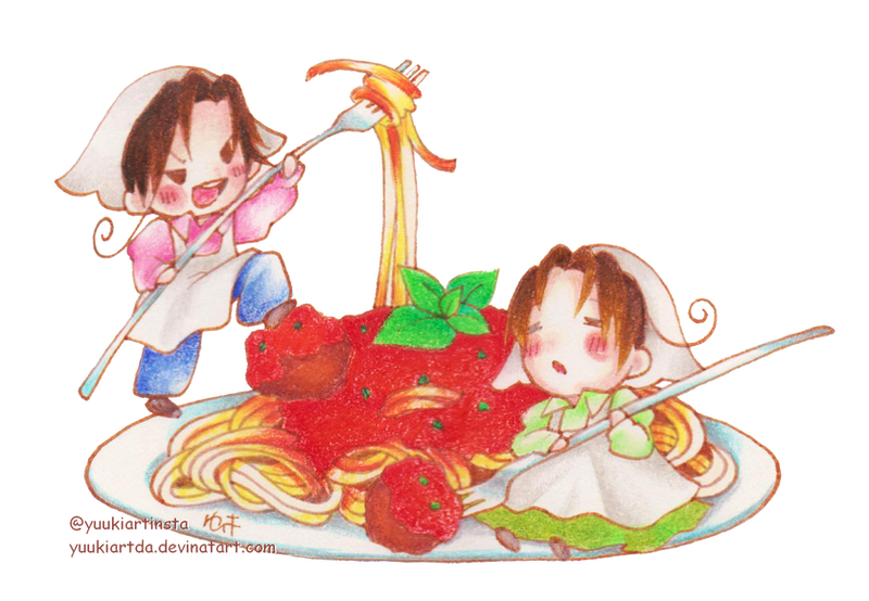 Pasta by yuukiartda