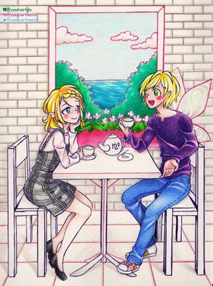 Cafe L'espoir by yuukiartda