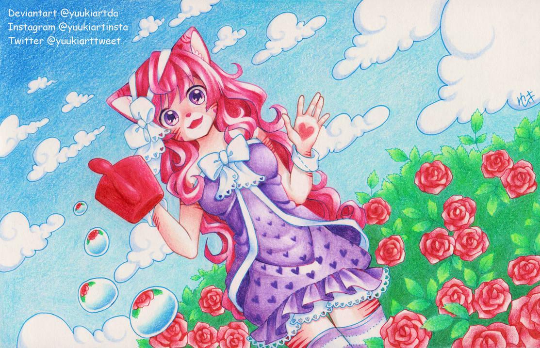 Rose Garden by yuukiartda