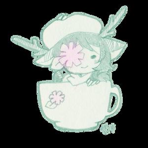 Mint Hot Chocolate by yuukiartda