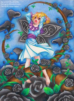 Black Rose by yuukiartda