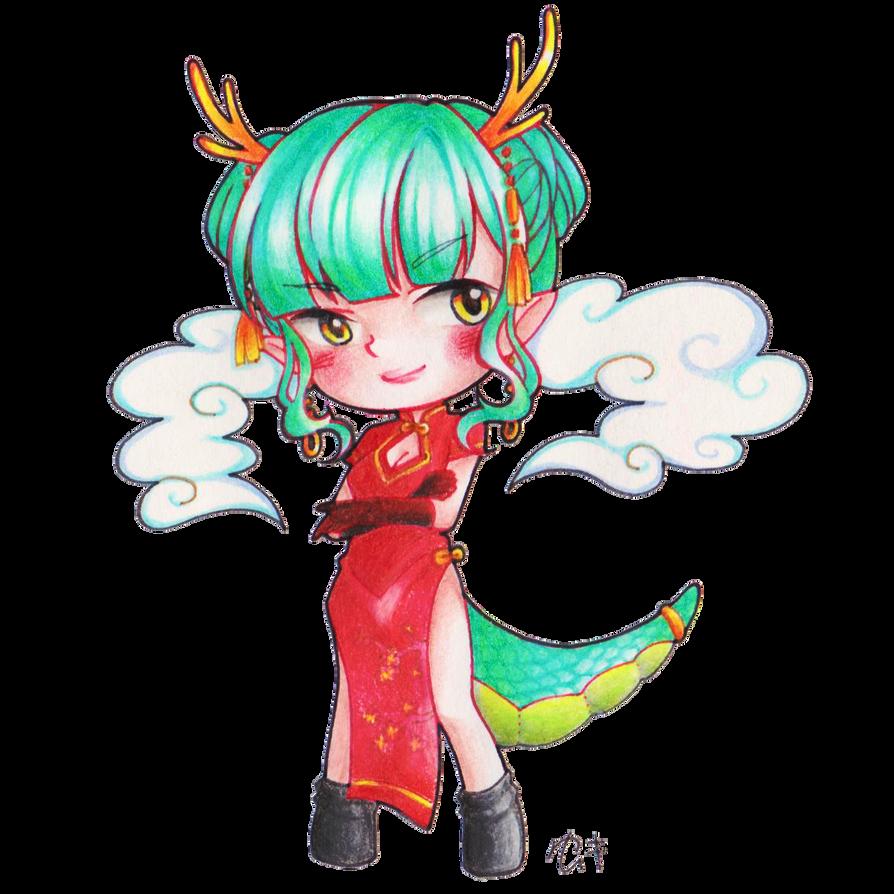 Dragon Lady by yuukiartda