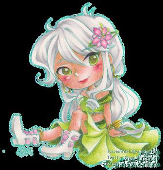 Like a flower fairy by yuukiartda