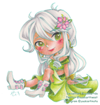 Like a flower fairy