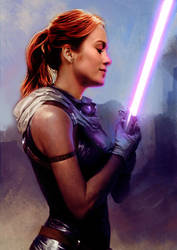 Brie Larson as Mara Jade concept fanart